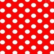 Rosso a pois bianchi