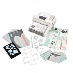 BIG SHOT SIZZIX PLUS + Starter Kit - Fustellatrice Manuale Roma