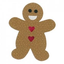 Fustella Sizzix Bigz L Die - Gingerbread Man 660176