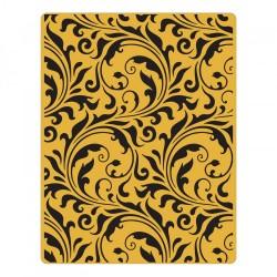 Texture Fades Embossing Folder - Flourish 661822 Fustella Sizzix Embossing Damascato