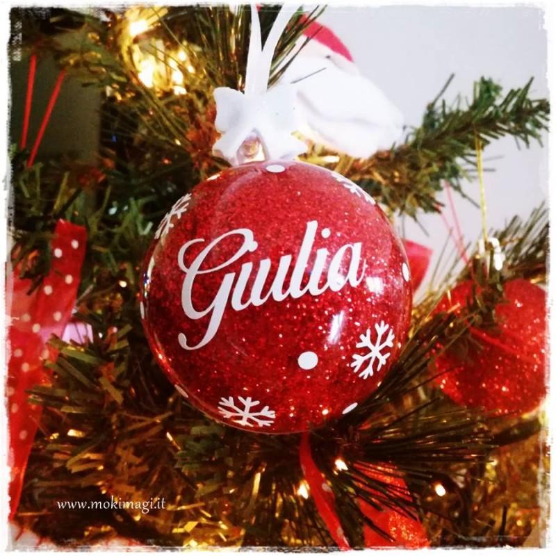 Immagini Di Natale Con Nomi.Il Mio Primo Natale Sfere Natalizie Con Nome Palline