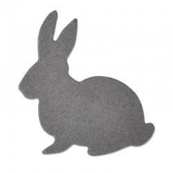 Fustella Coniglio Sizzix Thinlits Die - Cute Bunny Mini Coniglietto 661785