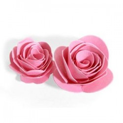 Fustella Rose 3D - Sizzix Bigz Die - Flowers, 3-D 656545