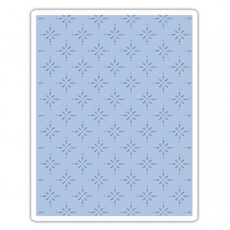 Sizzix Texture Fades Embossing Folder - Star Bright Fustella Embossing Sizzix 661611