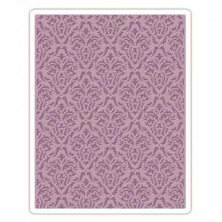 Sizzix Texture Fades Embossing Folder - Damask Fustella Embossing Sizzix 661592
