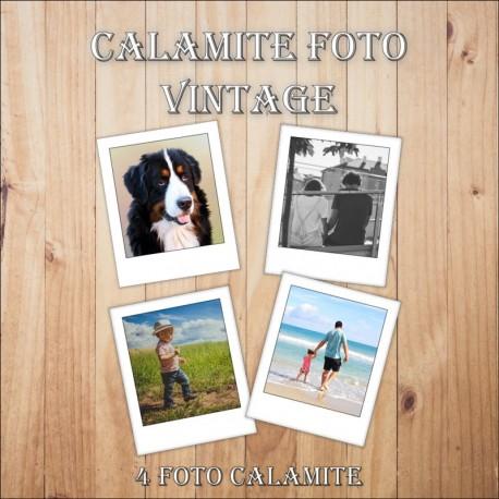 Calamite Foto Vintage - 4 foto per confezione