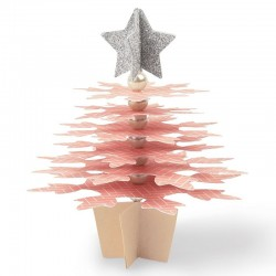 Albero Fiocchi di Neve - Sizzix Bigz Die - Snowflake Christmas Tree Fustella Natale