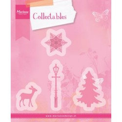 Fustella Christmas village Marianne Design Collectables COL1330