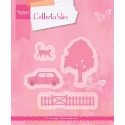 Fustella VILLAGE DECORATION SET 2 Marianne Design Collectables COL1383