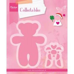 Fustella Orsetto Marianne Design Collectables COL1376 Bear Fustella Baby Orsacchiotto