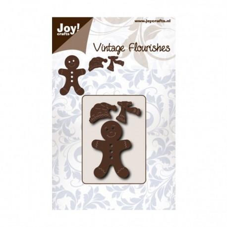 Fustella Gingerbread Man Joy!Crafts 6003-0076 Fustella Omino Biscotto