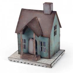 Fustella Casa 3D - Fustella Sizzix Bigz XL Village Dwelling 660992 Fustella Casetta 3D
