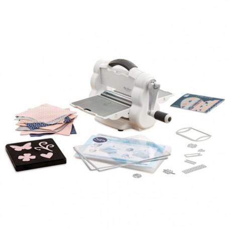 Sizzix Big Shot Foldaway Machine  + Starter Kit - Fustellatrice Manuale Richiudibile