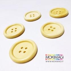 Bottoni in Legno - 5 pezzi per confezione - 3,5cm