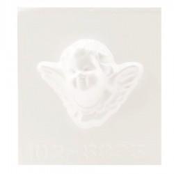 Stampo Angelo per Gessetti, Polvere di Ceramica, ecc... Stampo Viso Angelo