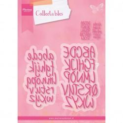Fustella Alfabeto Marianne Design Collectables CHARMING ALPHABET COL1397  Maiuscolo e Minuscolo