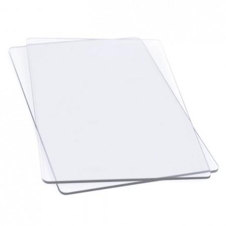 Coppia Tappetini Trasparenti da Taglio per Sizzix Big Shot Standard - Cutting Pads 655093