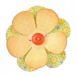 Fustella Fiore Grande - Sizzix Bigz Die - Flower A10143