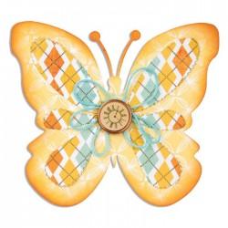 Fustella Farfalla Grande Sizzix Bigz Die - Butterfly A10120
