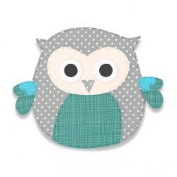 Fustella Gufo Sizzix Bigz Die - Owl 8 - 663383