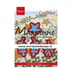 Fustella Stella e Rametti Marianne Design Creatables CHRISTMAS GREEN LR0634