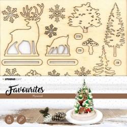 Paesaggio in Legno - Studio Light • Plywood favourites Christmas tree PWSL04