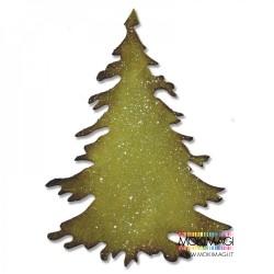 Fustella Albero Abete Frastagliato -Sizzix Bigz Die - Evergreen 660985