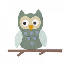 Fustella Gufo Sizzix Bigz Die - Owl 662587 Gufetto + Ramo