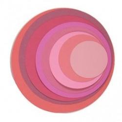 Fustelle Cerchi Sizzix Framelits Die Set 8PK - Circles 657551