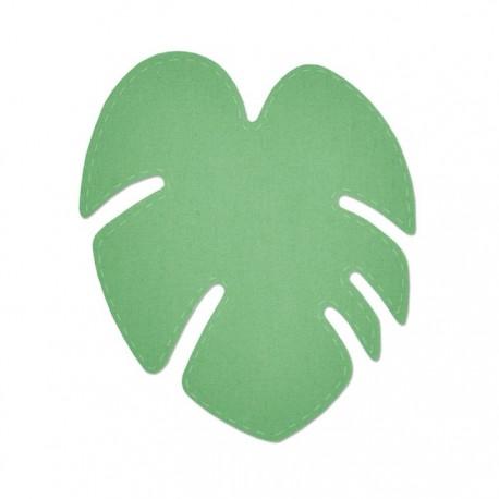 Fustella Foglia Tropicale Sizzix Bigz Die - Tropical Leaf 663360
