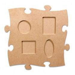 Cornice Puzzle MDF - 24x24 cm