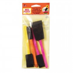 Mod Podge  - Set di 4 spugne - foam brush set x4