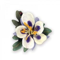 Fustella Fiore Aquilegia Sizzix Thinlits Die Set - Flower, Columbine 658857