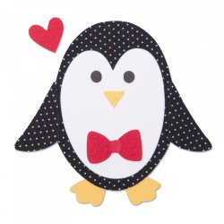 Fustella Pinguino Sizzix Bigz Die - Penguin  2 663406