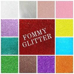 Gomma Crepla Glitter - Fommy Glitterato 2mm 40x60cm Vari Colori