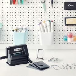 BIG SHOT SIZZIX Sidekick Nera + Starter Kit Fustellatrice Piccola + Kit Tim Holtz Sidekick starter kit Black 664175