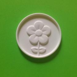 Fiore tondo - Gessetto Profumato