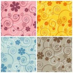Pannolenci Fiori Curly Flowers 1mm - Foglio 30x40cm Vari Colori