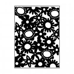 Embossing Folder Carabelle - Fustella per Rilievo con Fiori AE60009 10,8x14,6cm