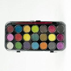 Acquerelli - Set 21 Colori + Pennello 2700-41