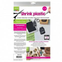 Shrink Plastic Trasparente A4 x 4 fogli - Vaessen Creative AR3-700-4