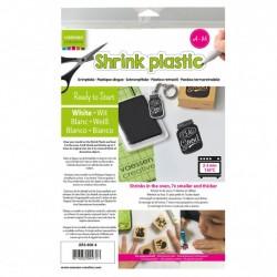 Shrink Plastic Bianca A4 x 4 fogli - Vaessen Creative AR3-600-4