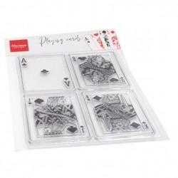Set Timbri Carte da Gioco Marianne Design CS1055 CARDS