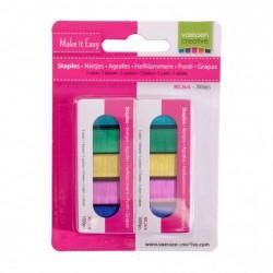 Graffette - Punti Colorati in 5 colori - 2000 pezzi 2137-058