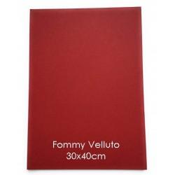 Gomma Crepla Vellutata - 2mm - Foglio 30x40cm
