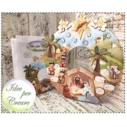 Pannello Betlemme Idee per Creare - Kit Natale Idee per Creare