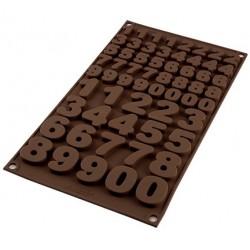 Stampo Numeri - Stampo in Silicone Silikomart Stampo 123 Maxi
