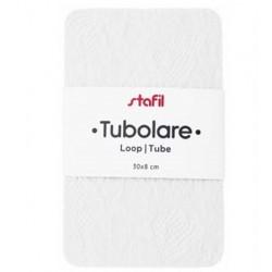 Tubolare Pizzo Bianco - 30x8cm