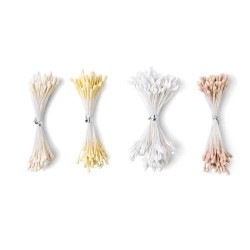 Pistilli Bianco - Crema Assortiti Sizzix Making Essential 400 pezzi - Flower Stamens 664614