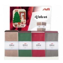 Velluto Velvet Stafil - Vari Colori - 50x70cm